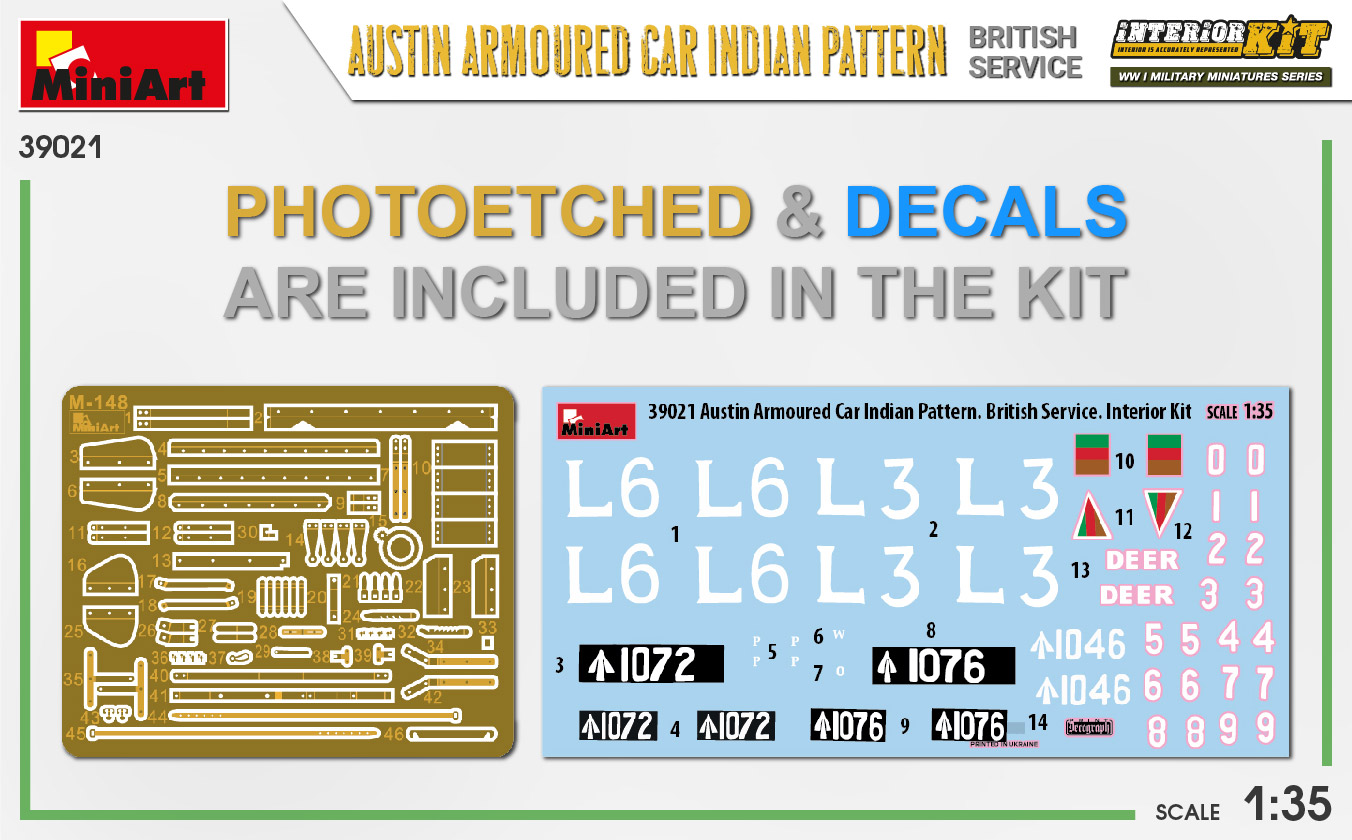 MIniArt-39021-Austin-Armoured-Car-Indian-Pattern-3 Austin Armoured Car - Indian pattern in 1:35 von MiniArt #39021