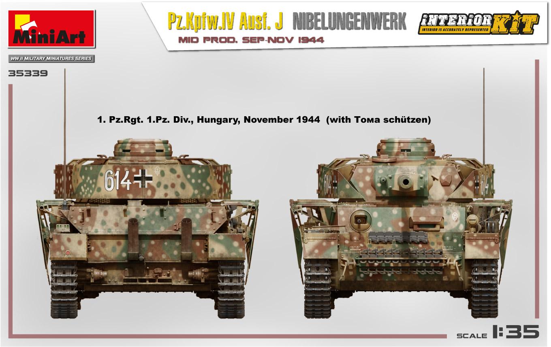MiniArt-35339-Pz.-IV-12 Ankündigung: Pz. Kpfw. IV Ausf. J Nibelungenwerk Mid Prod Sep-Nov 1944 1:35 Miniart (#35339)