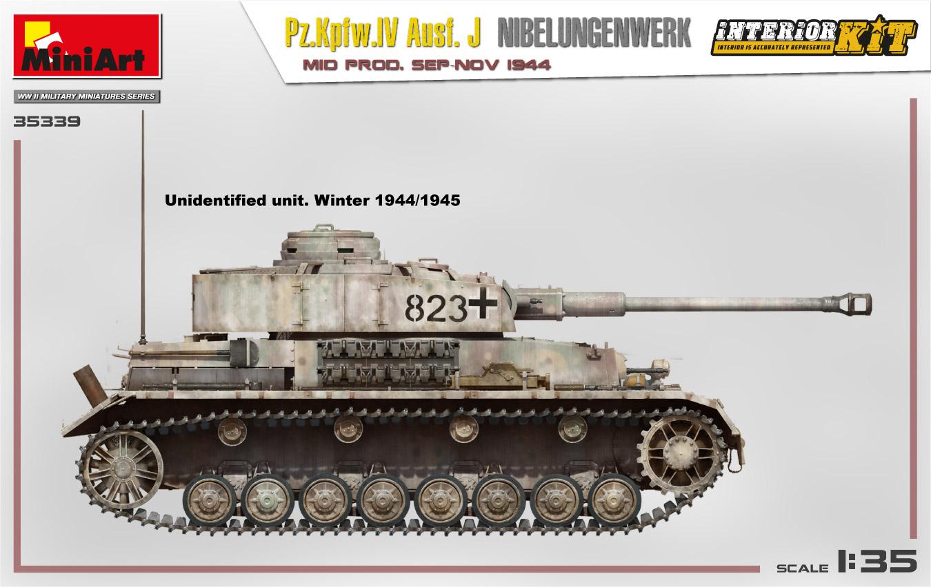 MiniArt-35339-Pz.-IV-15 Ankündigung: Pz. Kpfw. IV Ausf. J Nibelungenwerk Mid Prod Sep-Nov 1944 1:35 Miniart (#35339)
