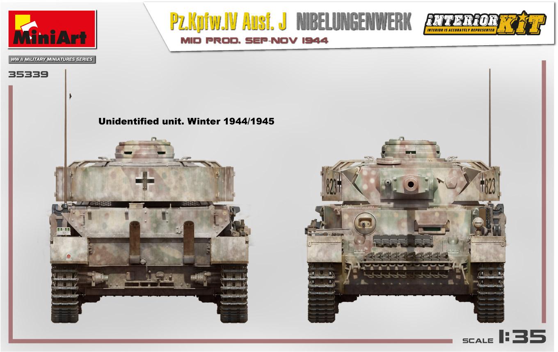 MiniArt-35339-Pz.-IV-16 Ankündigung: Pz. Kpfw. IV Ausf. J Nibelungenwerk Mid Prod Sep-Nov 1944 1:35 Miniart (#35339)
