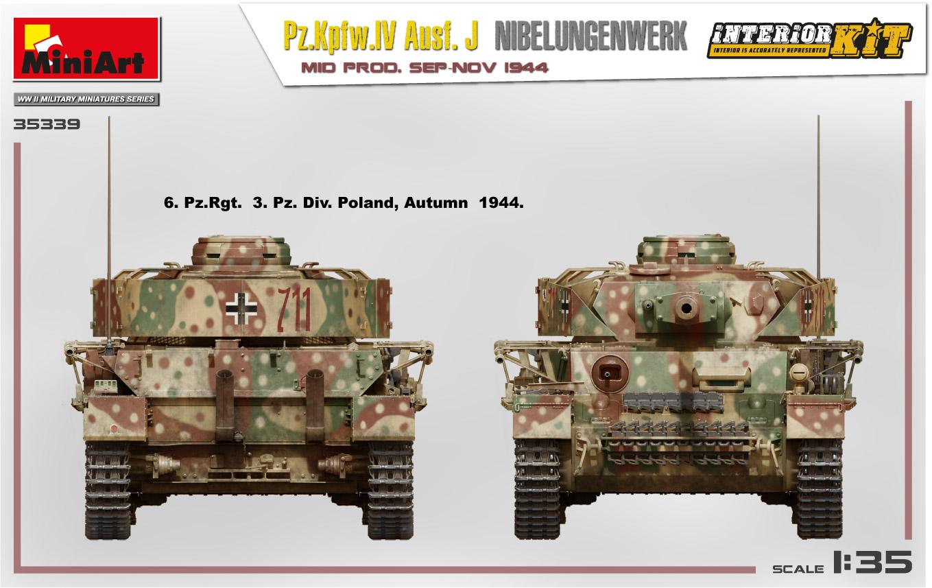 MiniArt-35339-Pz.-IV-6 Ankündigung: Pz. Kpfw. IV Ausf. J Nibelungenwerk Mid Prod Sep-Nov 1944 1:35 Miniart (#35339)