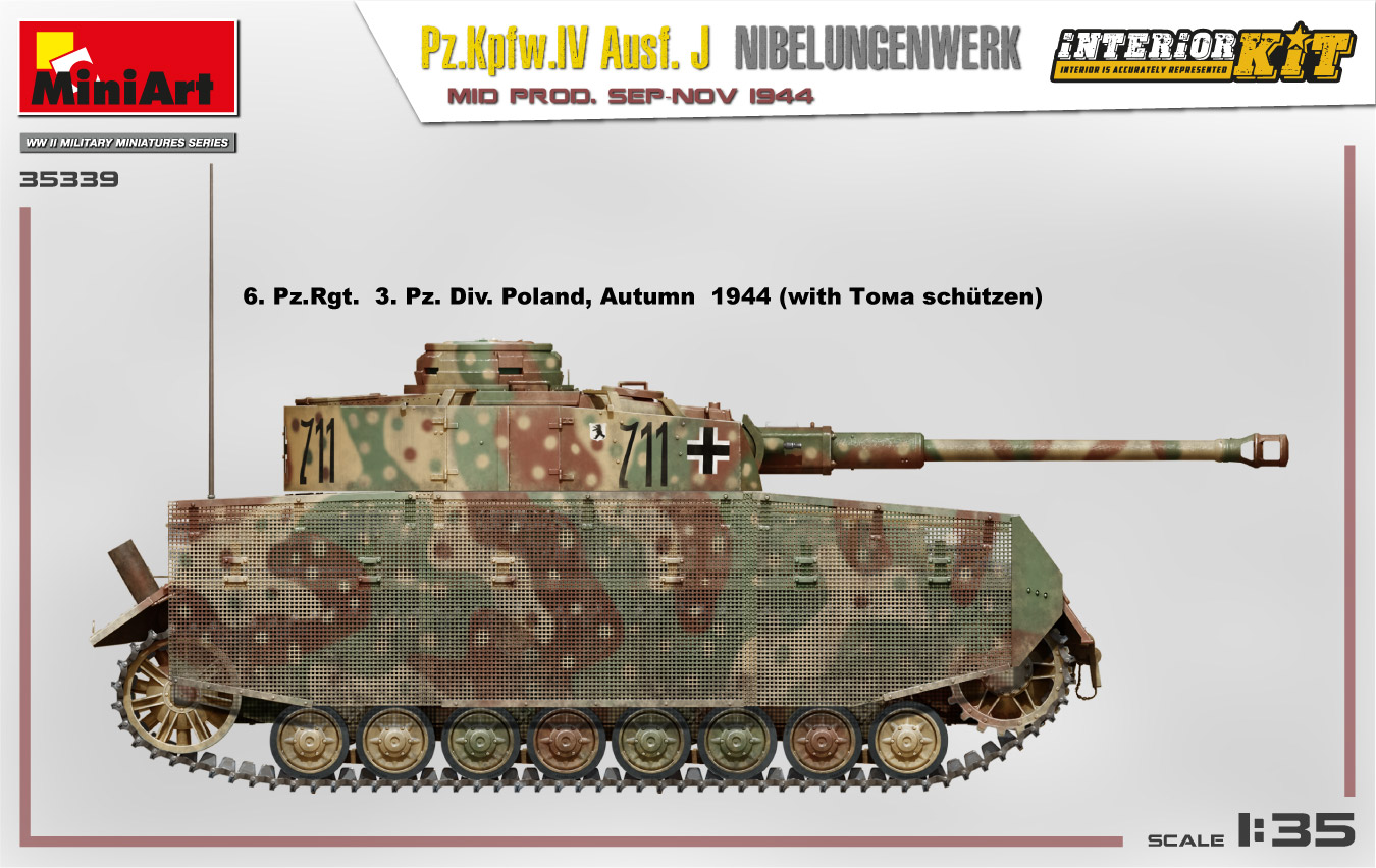 MiniArt-35339-Pz.-IV-7 Ankündigung: Pz. Kpfw. IV Ausf. J Nibelungenwerk Mid Prod Sep-Nov 1944 1:35 Miniart (#35339)