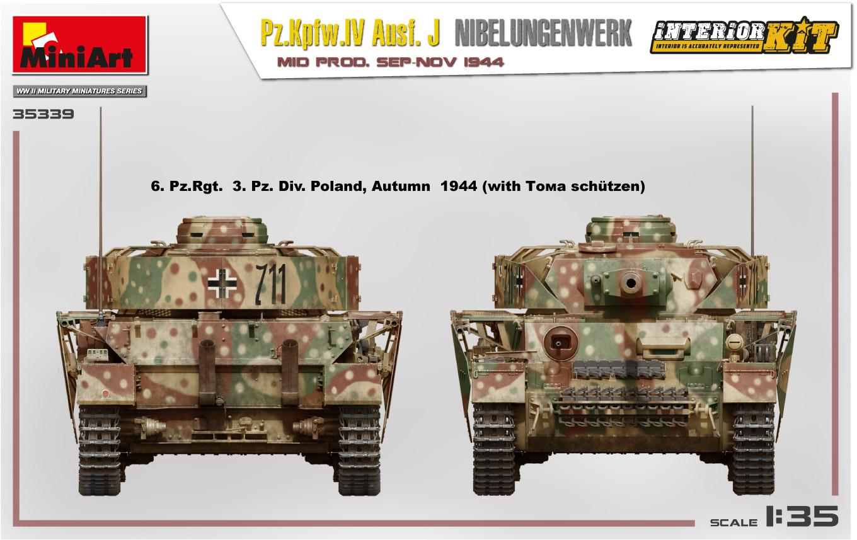 MiniArt-35339-Pz.-IV-8 Ankündigung: Pz. Kpfw. IV Ausf. J Nibelungenwerk Mid Prod Sep-Nov 1944 1:35 Miniart (#35339)