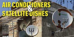 Air Conditioners & Satellite dishes in 1:35 von MiniArt #35638