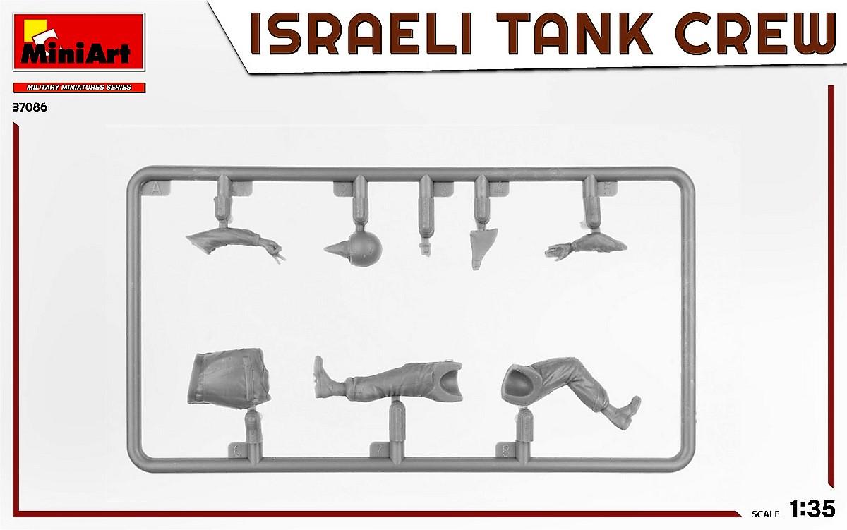 MiniArt-37086-IDF-Tank-Crew-Yom-Kippur-War-2 Israeli Tank Crew Yom Kippur War in 1:35 von MiniArt # 37086