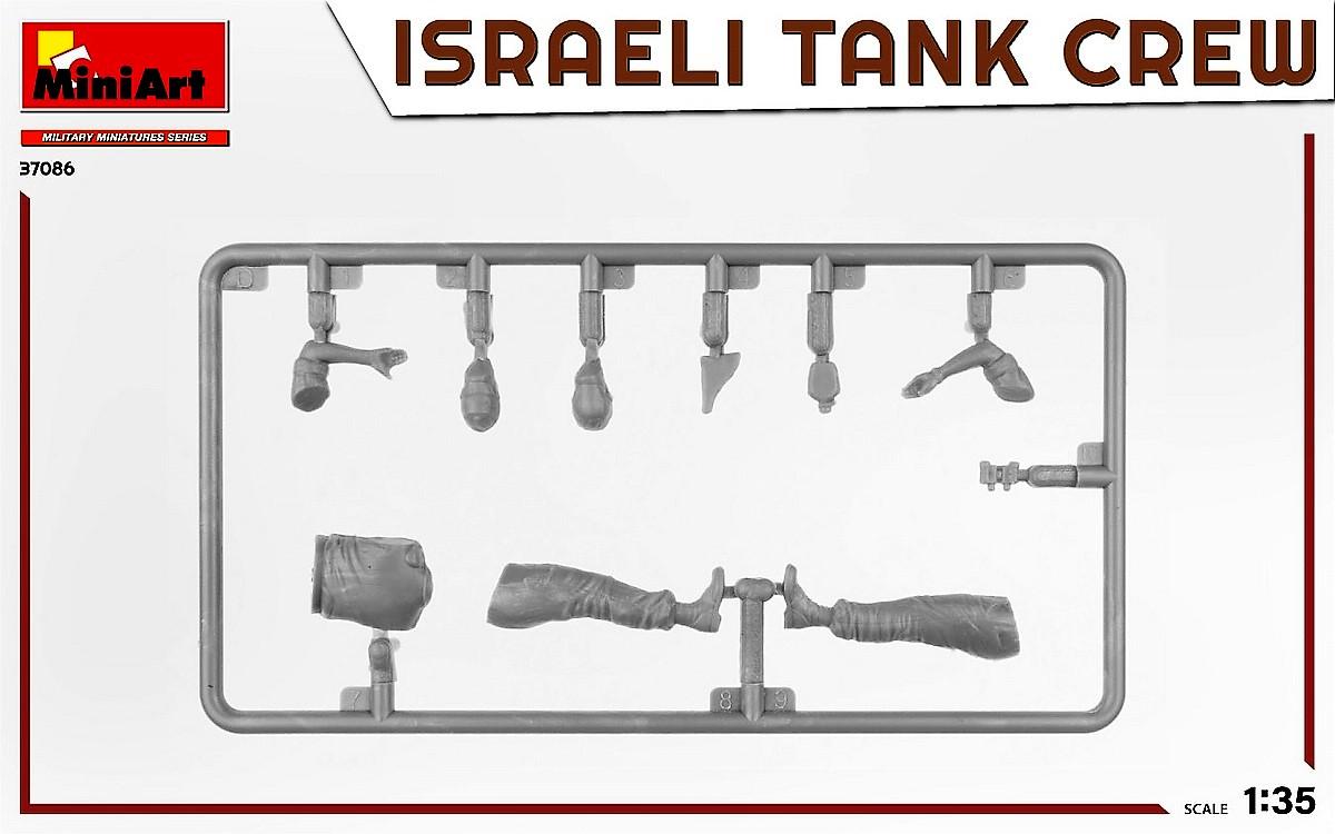 MiniArt-37086-IDF-Tank-Crew-Yom-Kippur-War-3 Israeli Tank Crew Yom Kippur War in 1:35 von MiniArt # 37086
