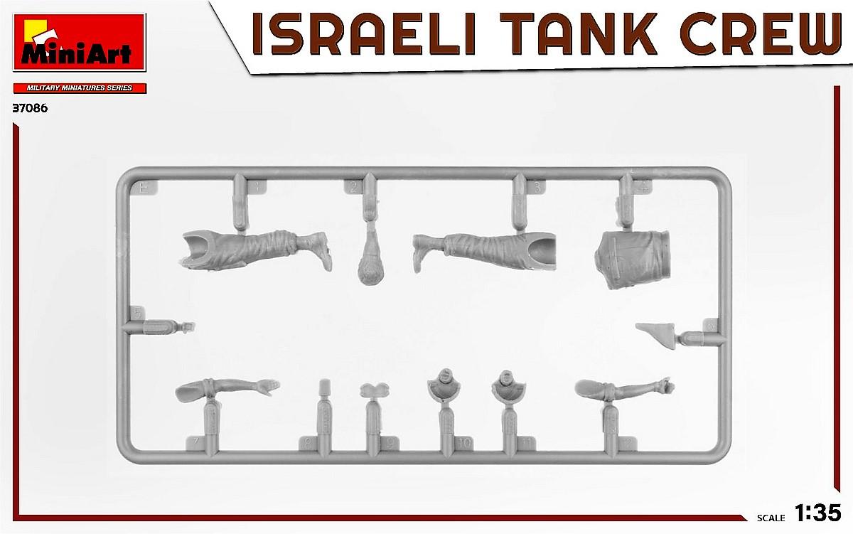MiniArt-37086-IDF-Tank-Crew-Yom-Kippur-War-4 Israeli Tank Crew Yom Kippur War in 1:35 von MiniArt # 37086