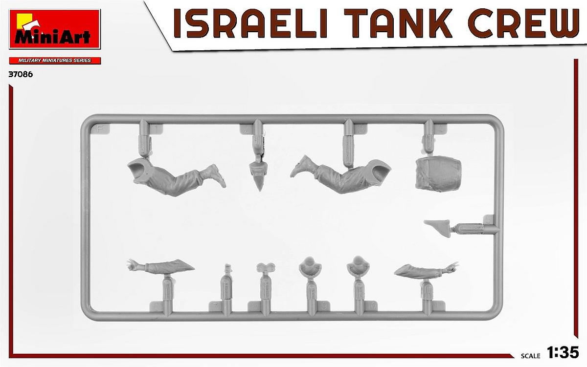 MiniArt-37086-IDF-Tank-Crew-Yom-Kippur-War-5 Israeli Tank Crew Yom Kippur War in 1:35 von MiniArt # 37086