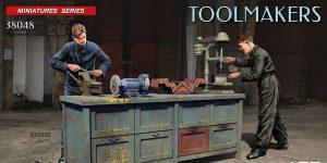 Toolmakers in 1:35 von MiniArt #38048