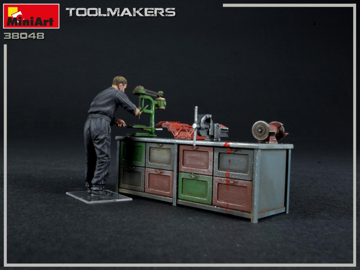 MiniArt-38048-Toolmakers-6 Toolmakers in 1:35 von MiniArt #38048