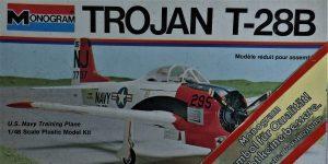Kit-Archäologie: Monogram T-28B Trojan in 1:48 #5100