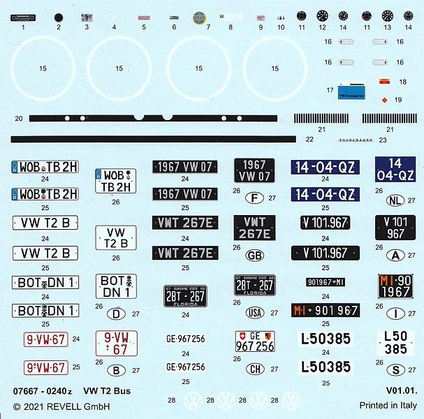 REvell-07667-VW-T2-Bus-4 VW T2 Bus in 1:24 von Revell #07667