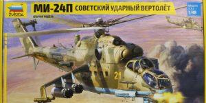 MI-24P – Zvezda 1/48