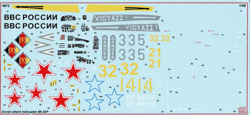 Review_Zvezda_Mi24_31 MI-24P - Zvezda 1/48