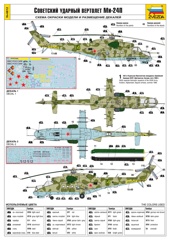 Review_Zvezda_Mi24_35 MI-24P - Zvezda 1/48