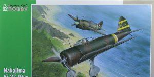 Nakajima Ki-27 Nate in 1:32 von Special Hobby # 32040