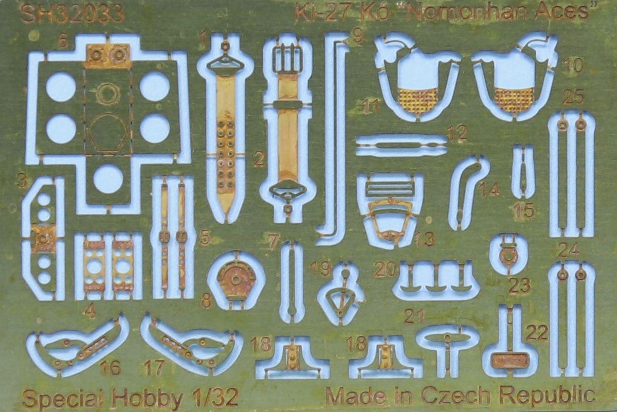 Special-Hobby-32040-Ki-27-Nate-24 Nakajima Ki-27 Nate in 1:32 von Special Hobby # 32040