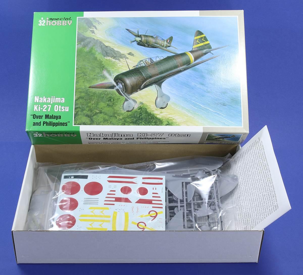Special-Hobby-32040-Ki-27-Nate-27 Nakajima Ki-27 Nate in 1:32 von Special Hobby # 32040