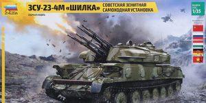 FLAKpanzer ZSU 23-4M Shilka in 1:35 von Zvezda #3635