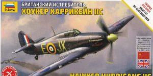Hawker Hurricane Mk. II C in 1:72 von Zvezda #7322