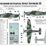 Zvezda-7322-Hawker-Hurricane-Mk.-II-C-4-150x150 Hawker Hurricane Mk. II C in 1:72 von Zvezda #7322