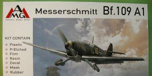 Messerschmitt Bf 109 A-1 in 1:48 von AMG # 48711