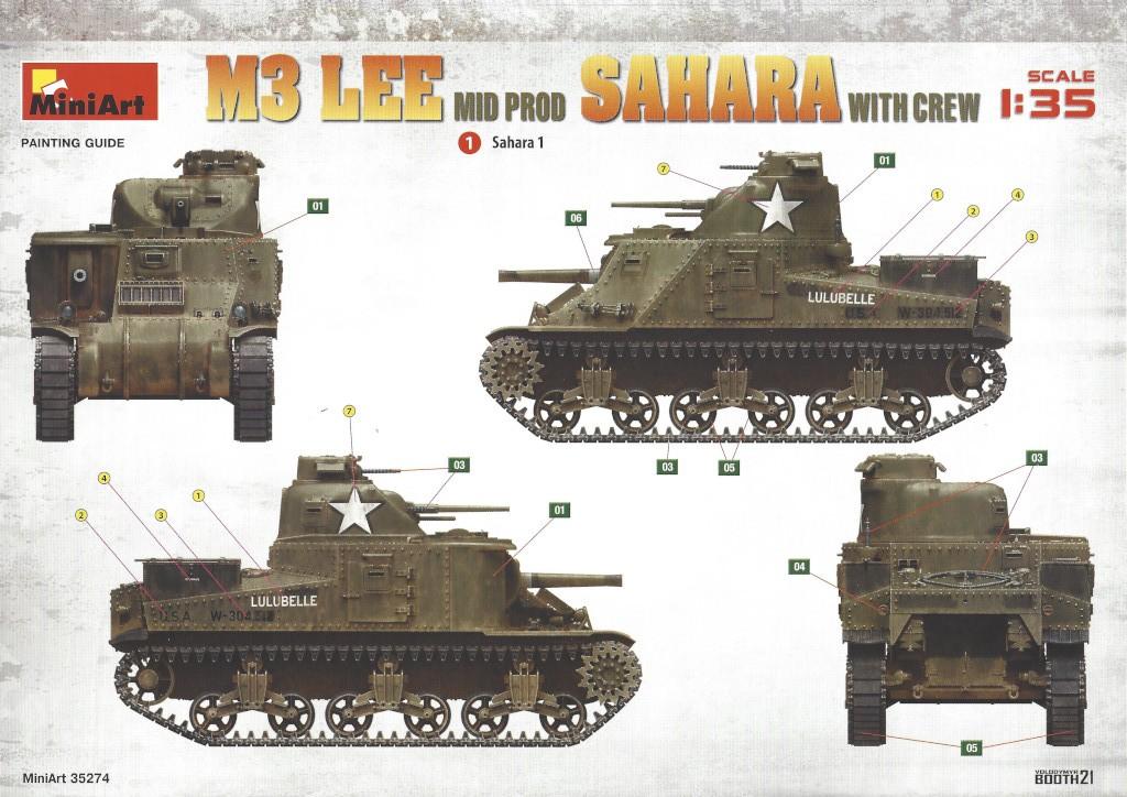 Anleitung02_r M3 Lee Mid Prod Sahara with Crew 1:35 Miniart (#35274)