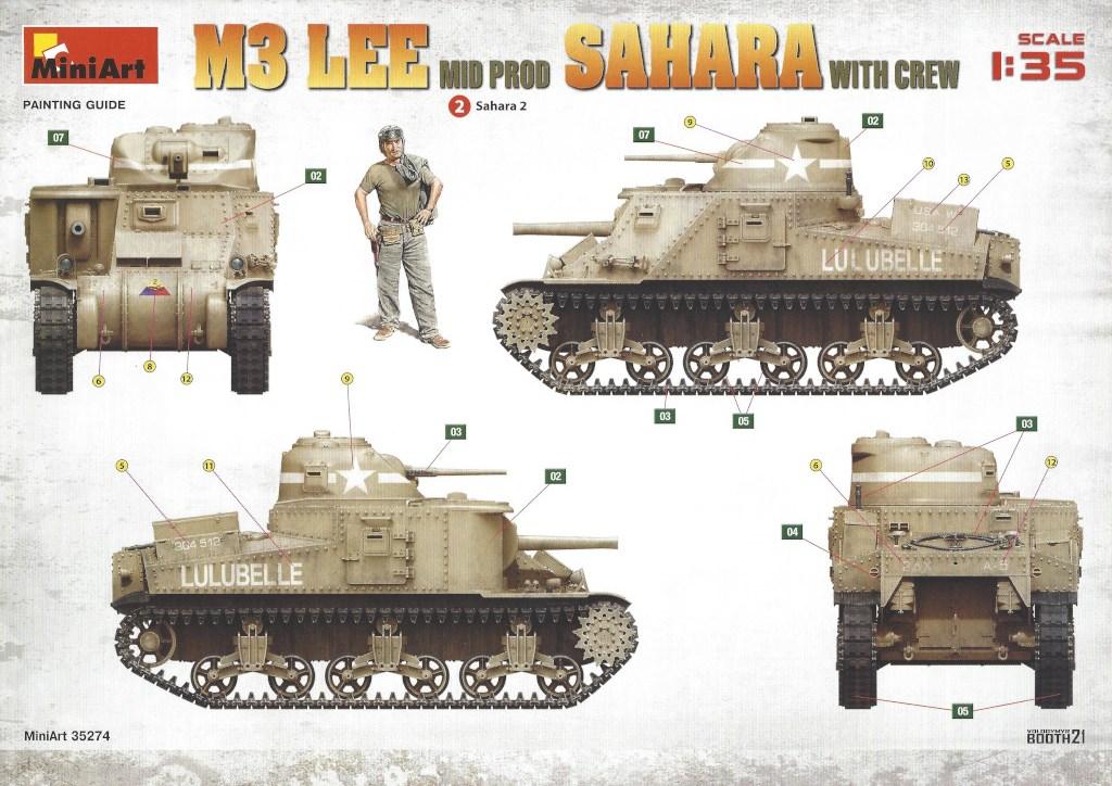 Anleitung03_l M3 Lee Mid Prod Sahara with Crew 1:35 Miniart (#35274)