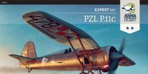 PZL P.11 in 1:48 von Arma Hobby # 4001