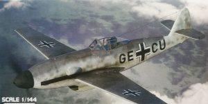 Messerschmitt Me 309 V1 / V2 in 1:144 von Brengun #144015