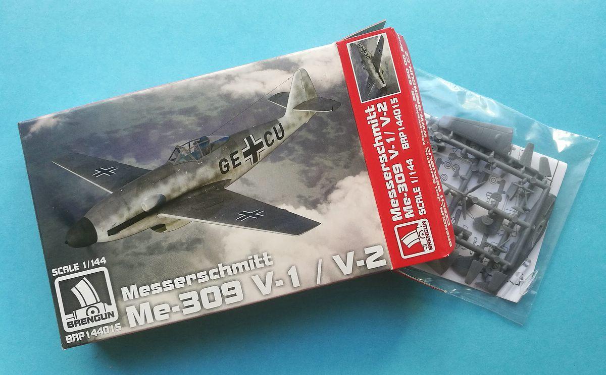 Brengun-BRP-144015-Me-309-V1-und-V-2-22 Messerschmitt Me 309 V1 / V2 in 1:144 von Brengun #144015