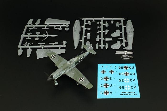 Brengun-BRP144015-Me-309-V1-und-V2 Messerschmitt Me 309 V1 / V2 in 1:144 von Brengun #144015