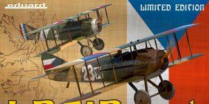 Legie – SPAD XIIIs flown by Czechoslovak pilots 1/72 Eduard #2126