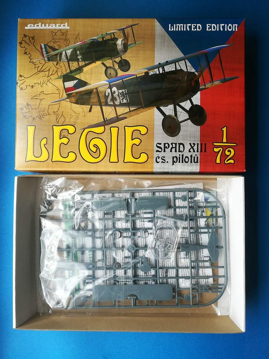 Eduard-2126-Legie-Czech-SPADs-2 Legie - SPAD XIIIs flown by Czechoslovak pilots 1/72 Eduard #2126