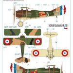 Eduard-2126-Legie-Czech-SPADs-35-150x150 Legie - SPAD XIIIs flown by Czechoslovak pilots 1/72 Eduard #2126