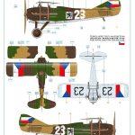 Eduard-2126-Legie-Czech-SPADs-38-150x150 Legie - SPAD XIIIs flown by Czechoslovak pilots 1/72 Eduard #2126