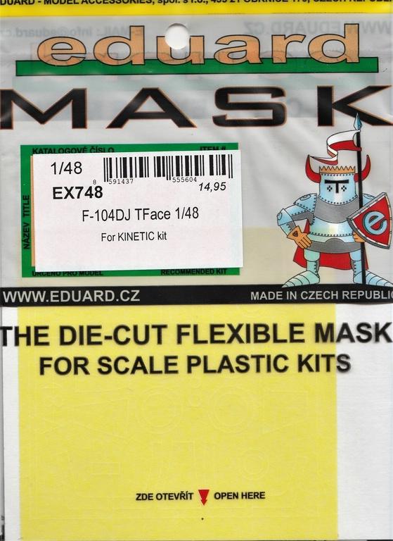 Eduard-491147-und-EX-748-Aetzteile-und-Maken-fuer-die-F-104DJ-Kinetic-16 Ätzteile und Masken für die F-104DJ (Kinetic) von Eduard #491147 und #EX748