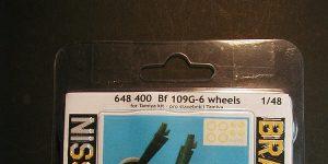 Räder für die Bf 109 G-6 in 1:48 von Eduard #648400