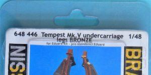 Eduard Tempest Mk V Undercarriage legs BRONZE in 1:48 #648446