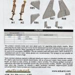 Eduard-648446-Tempest-Mk.-V-undercarriage-BRONZE-14-150x150 Eduard Tempest Mk V Undercarriage legs BRONZE in 1:48 #648446