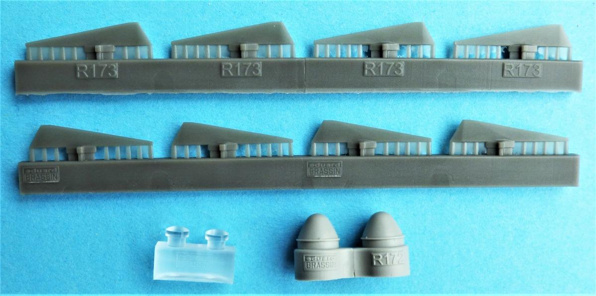 Eduard-648624-GBU-15-6 Gleitbombe GBU-15(V)1/B von Eduard in 1:48 #648624