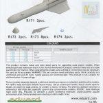 Eduard-648624-GBU-15-8-150x150 Gleitbombe GBU-15(V)1/B von Eduard in 1:48 #648624