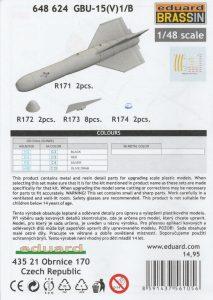 Eduard-648624-GBU-15-8-213x300 Eduard 648624 GBU-15 (8)
