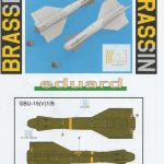 Eduard-648624-GBU-15-9-150x150 Gleitbombe GBU-15(V)1/B von Eduard in 1:48 #648624