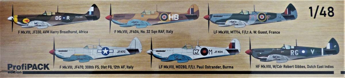 Eduard-8284-Spitfire-Mk.-VIII-ProfiPack-2 Spitfire Mk. VIII in 1:48 als Eduard ProfiPack Wiederauflage # 8284