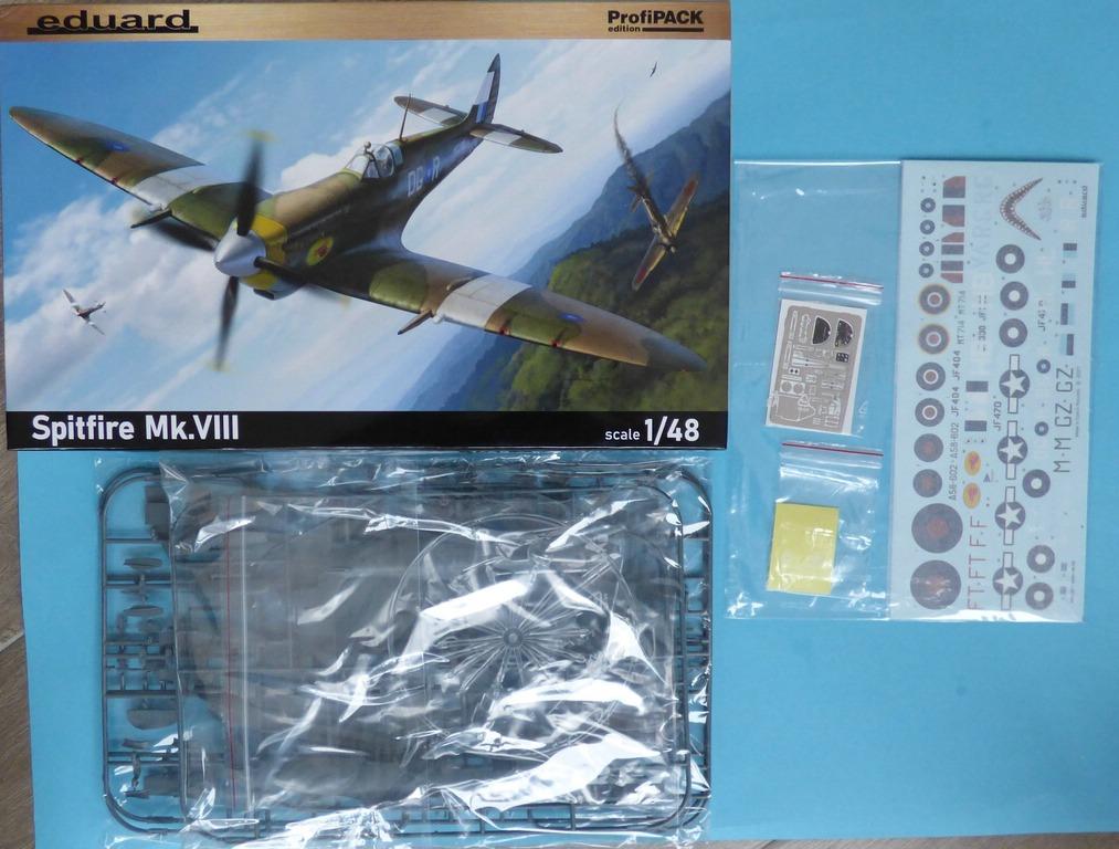 Eduard-8284-Spitfire-Mk.-VIII-ProfiPack-3 Spitfire Mk. VIII in 1:48 als Eduard ProfiPack Wiederauflage # 8284