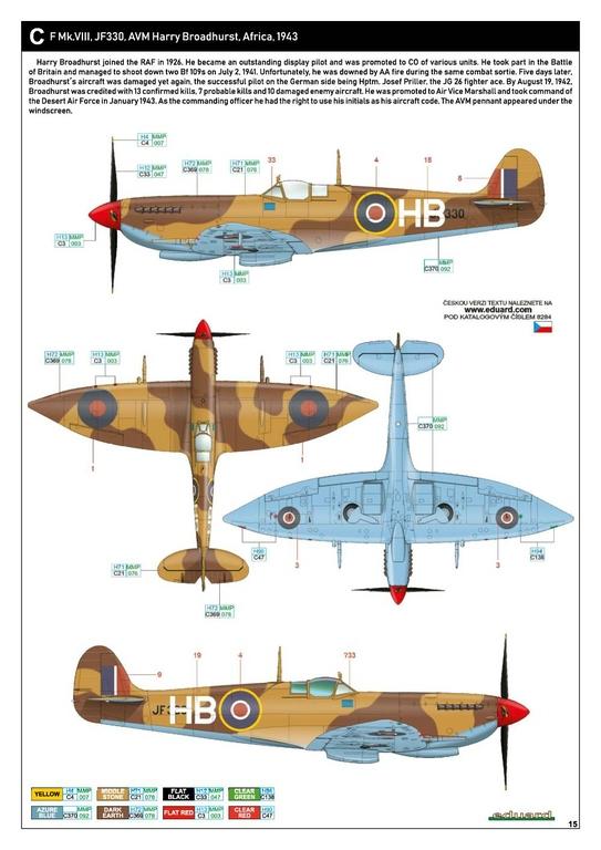 Eduard-8284-Spitfire-Mk.-VIII-ProfiPack-36 Spitfire Mk. VIII in 1:48 als Eduard ProfiPack Wiederauflage # 8284