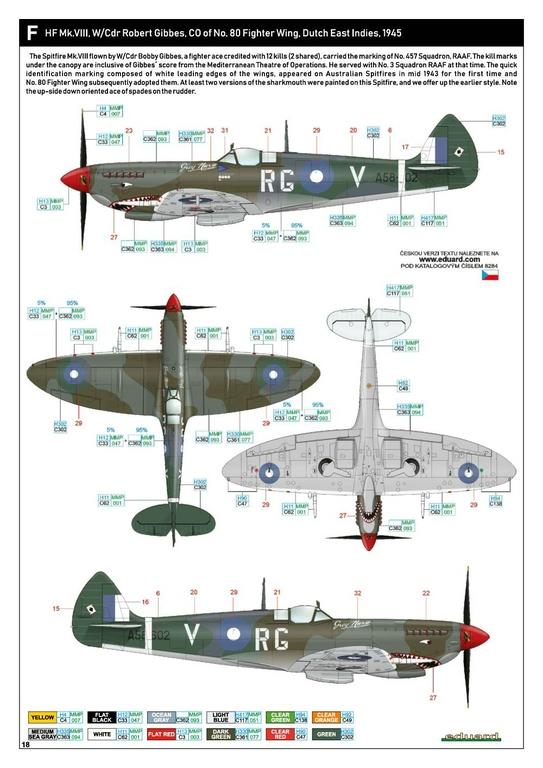 Eduard-8284-Spitfire-Mk.-VIII-ProfiPack-39 Spitfire Mk. VIII in 1:48 als Eduard ProfiPack Wiederauflage # 8284