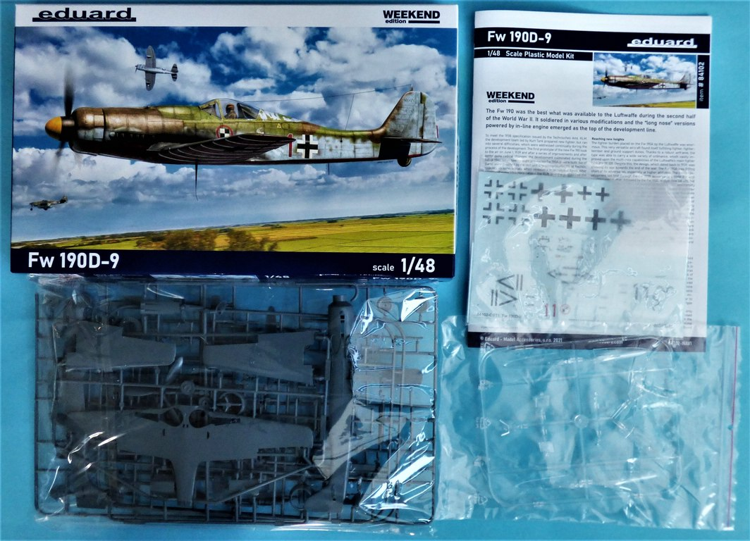 Eduard-84102-FW-190-D-9-WEEKEND-3 Focke-Wulf Fw 190D-9 WEEKEND in1:48 von Eduard #84102
