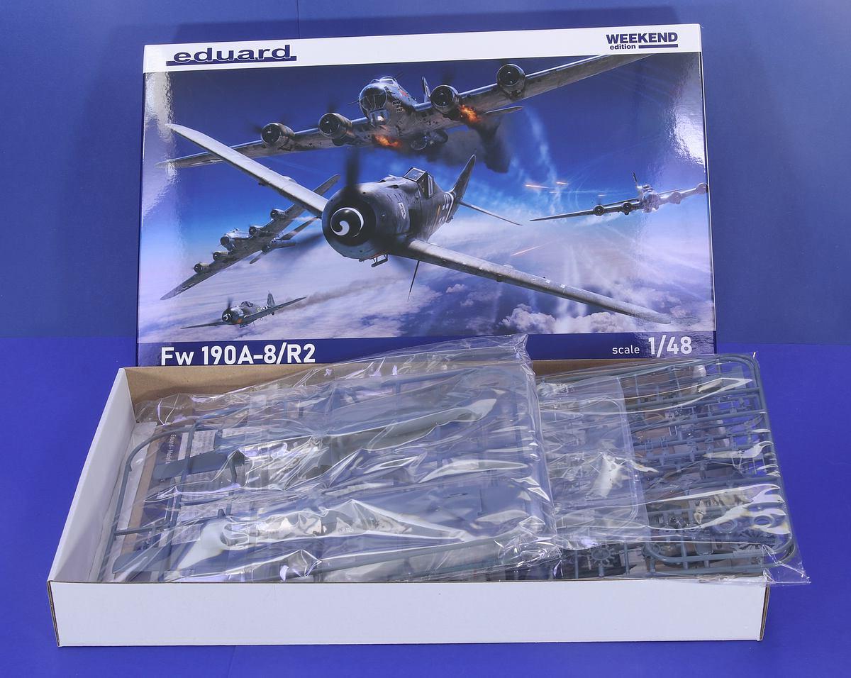 Eduard-84114-Fw-190-A8-R2-WEEKEND-3 Focke Wulf FW 190 A-8/R2 WEEKEND in 1:48 von Eduard # 84114